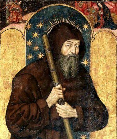raffigurazione di San Francesco da Paola