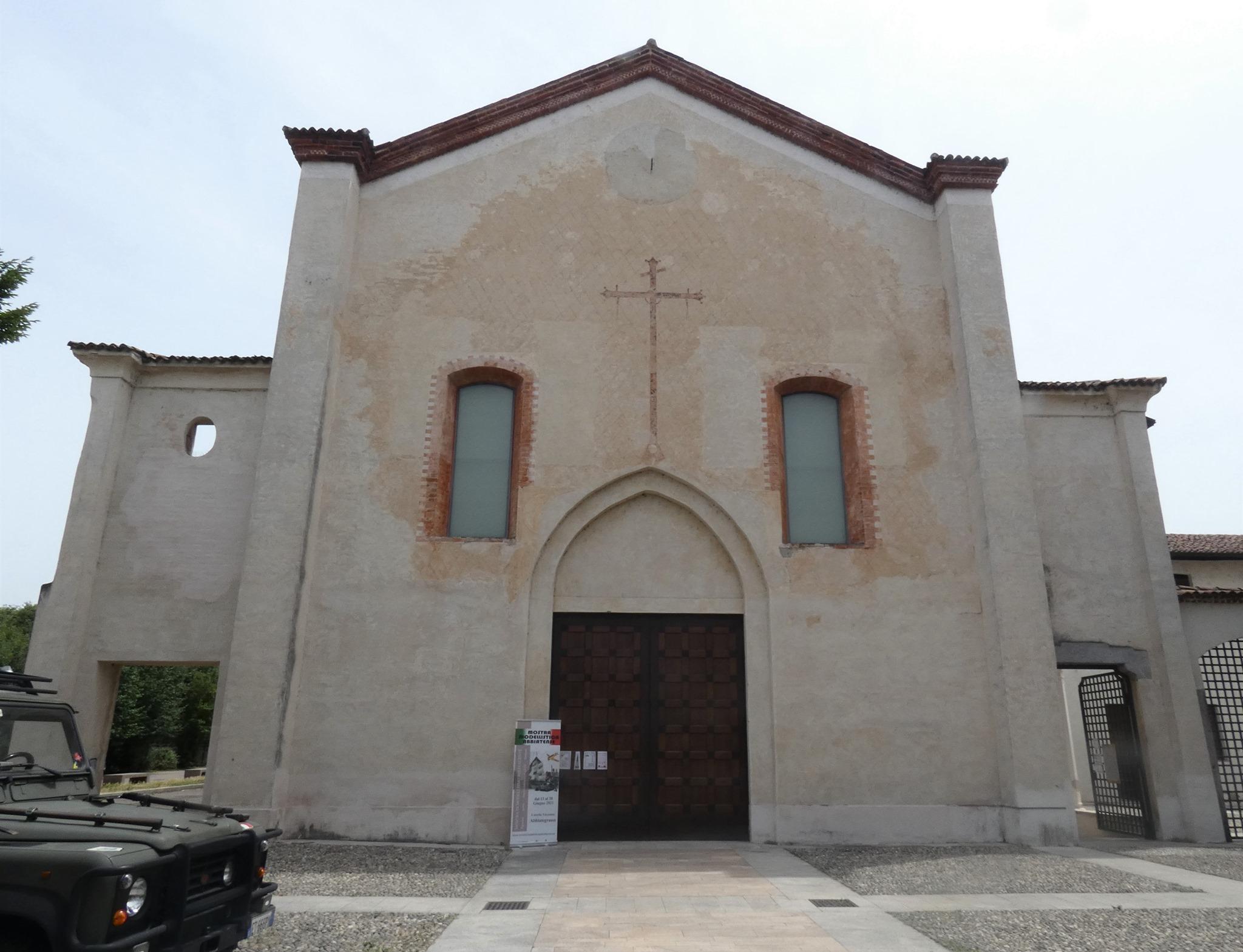 Facciata principale del Convento dell'Annunciata Abbiategrasso