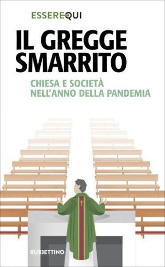 """copertina del libro """"Il gregge smarrito"""" dell'associazione Essere Qui"""