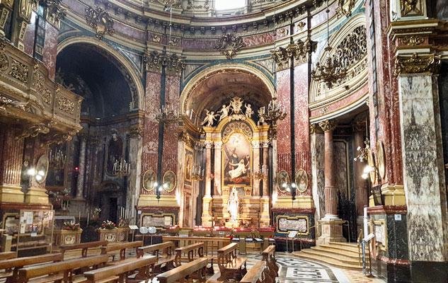 Santuario della Consolata di Torino (interno)